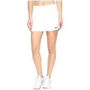 Nike white tennis skirt size s